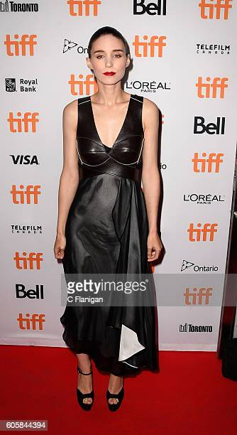 Actress Rooney Mara attends the premiere for 'Una' at the 2016 Toronto International Film Festival at Princess of Wales Theatre on September 14 2016...