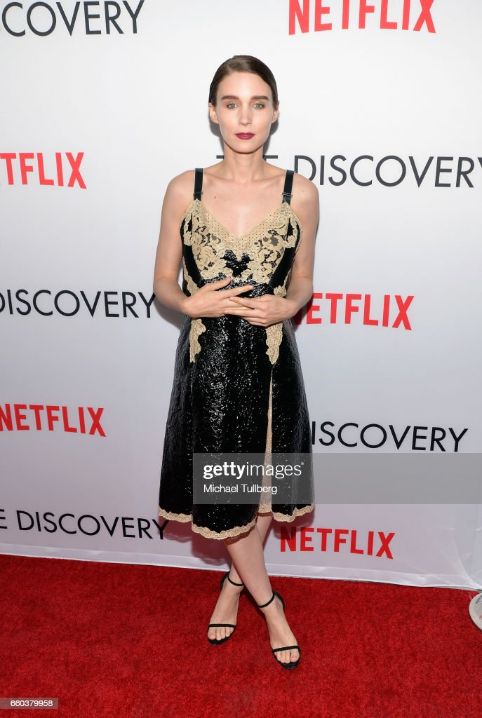 Actress Rooney Mara attends the premiere of Netflix's 'The Discovery' at the Vista Theatre on March 29, 2017 in Los Angeles, California.