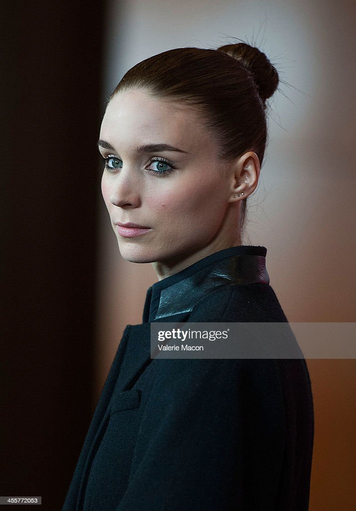 Actress Rooney Mara attends the premiere of Warner Bros. Pictures' 'Her.' at DGA Theater on December 12, 2013 in Los Angeles, California.