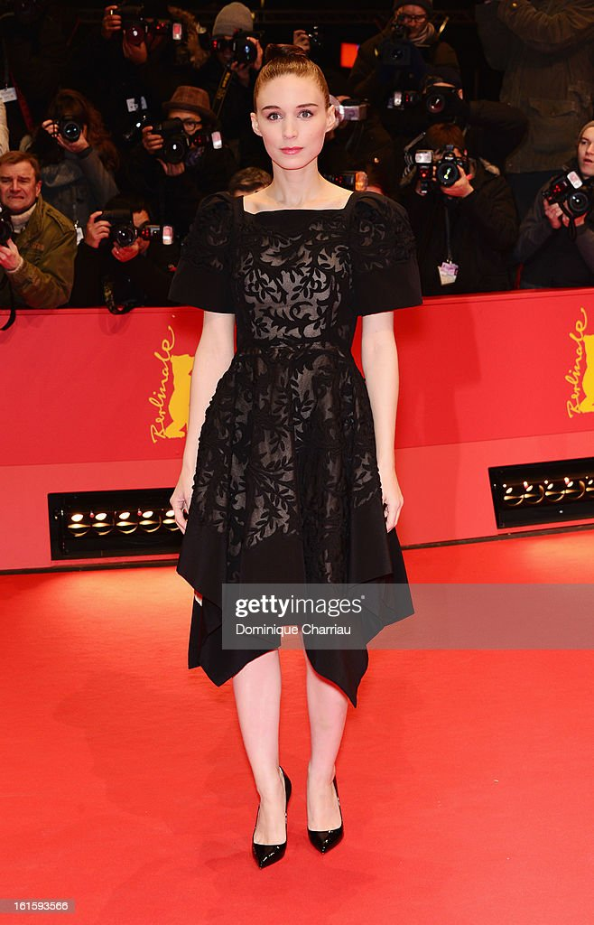 Actress Rooney Mara attends the 'Side Effects' Premiere during the 63rd Berlinale International Film Festival at Berlinale Palast on February 12 2013...