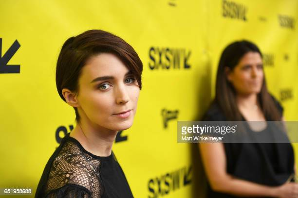 Actress Rooney Mara attends the 'Song To Song' premiere 2017 SXSW Conference and Festivals at Paramount Theatre on March 10 2017 in Austin Texas