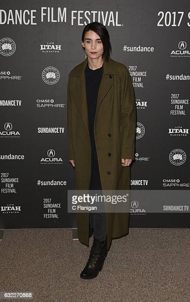 Actress Rooney Mara attends the 'The Discovery' premiere during day 2 of the 2017 Sundance Film Festival at Eccles Center Theatre on January 20 2017...