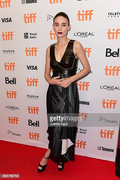 Actress Rooney Mara attends the 'Una' premiere during the 2016 Toronto International Film Festival at Princess of Wales Theatre on September 14 2016...