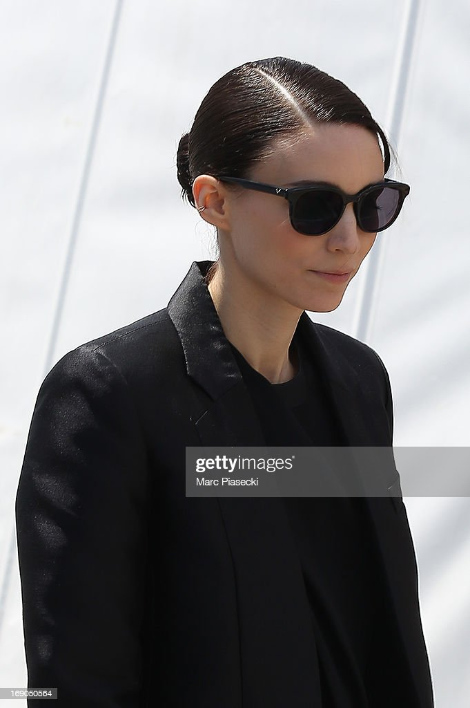 Actress Rooney Mara is seen in the Cannes harbour during the 66th Annual Cannes Film Festival on May 19, 2013 in Cannes, France.