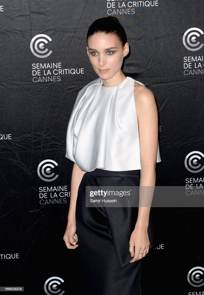 Actress <a gi-track='captionPersonalityLinkClicked' href=/galleries/search?phrase=Rooney+Mara&family=editorial&specificpeople=5669181 ng-click='$event.stopPropagation()'>Rooney Mara</a> poses during the 'Ain't Them Bodies Saints' Photocall during The 66th Annual Cannes Film Festival at the Palais des Festivals on May 18, 2013 in Cannes, France.