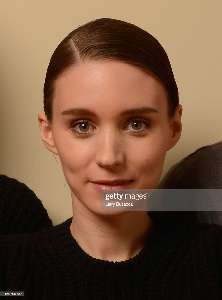 Actress Rooney Mara poses for a portrait during the 2013 Sundance Film Festival at the Getty Images Portrait Studio at Village at the Lift on January 20, 2013 in Park City, Utah.