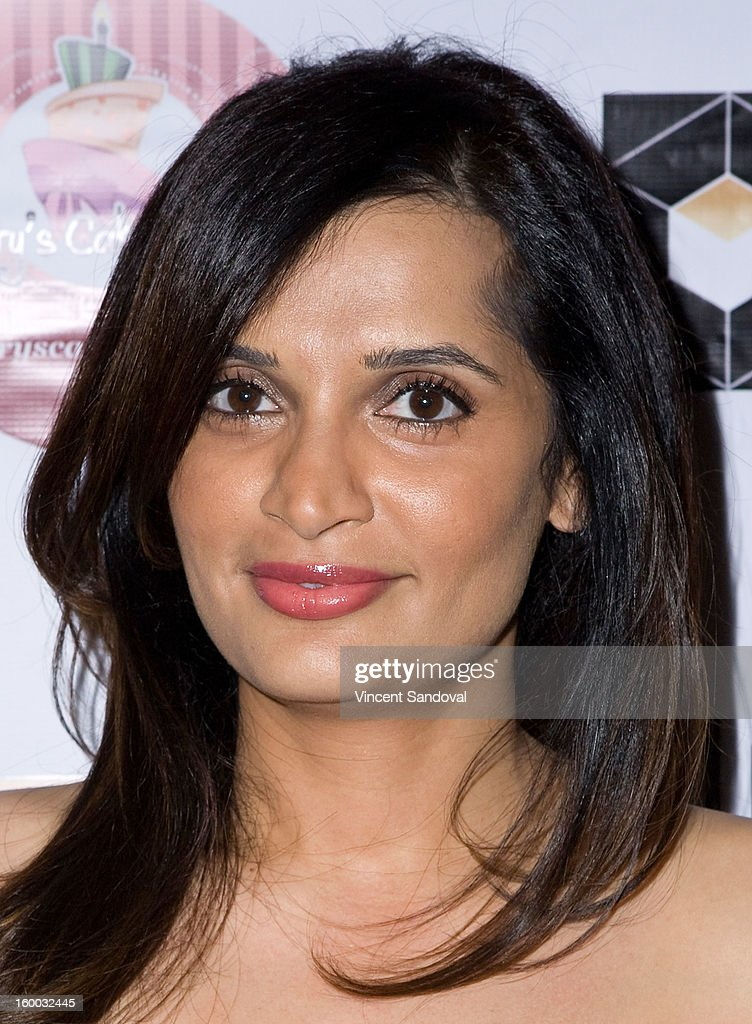 Actress Roopa Jeevaji attends the premiere of 'Vishwaroopam' at Pacific Theaters at the Grove on January 24, 2013 in Los Angeles, California.