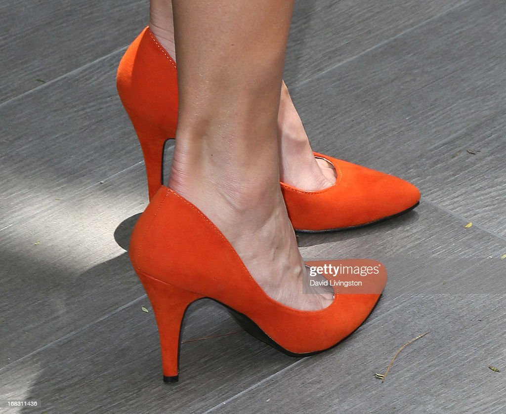 Actress Rosa Blasi (shoe detail) attends The Associates For Breast and Prostate Cancer Studies' Annual Mother's Day Luncheon at the Four Seasons Hotel Los Angeles at Beverly Hills on May 8, 2013 in Beverly Hills, California.