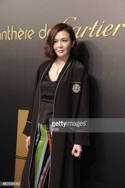 Actress Rosamund Kwan attends the Cartier party on May 12 2017 in Hong Kong China