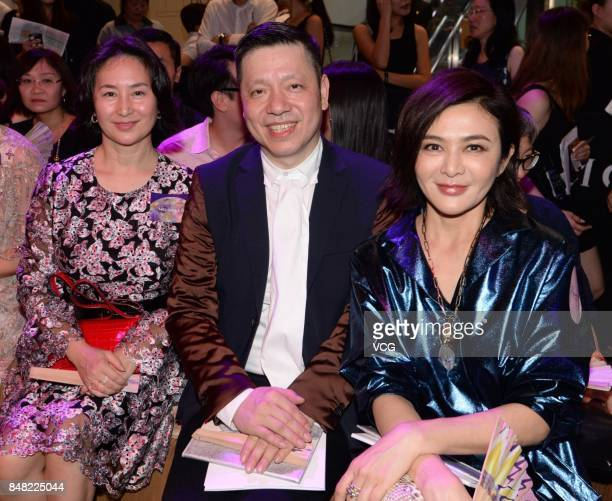 Actress Rosamund Kwan Chilam attends Moiselle 'Stop the Traffic' show on September 16 2017 in Hong Kong China