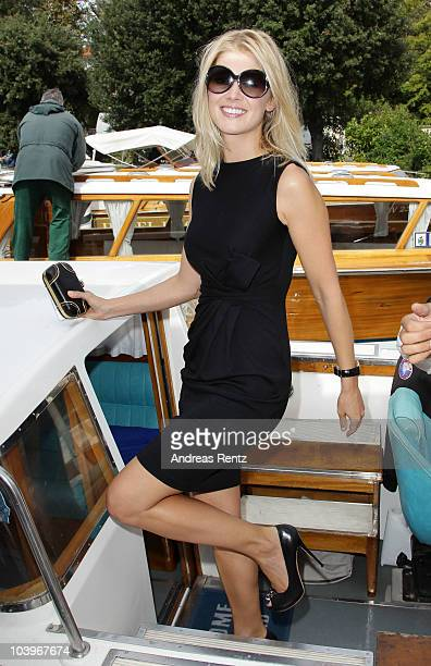 Actress Rosamund Pike attends the 67th Venice Film Festival on September 10 2010 in Venice Italy