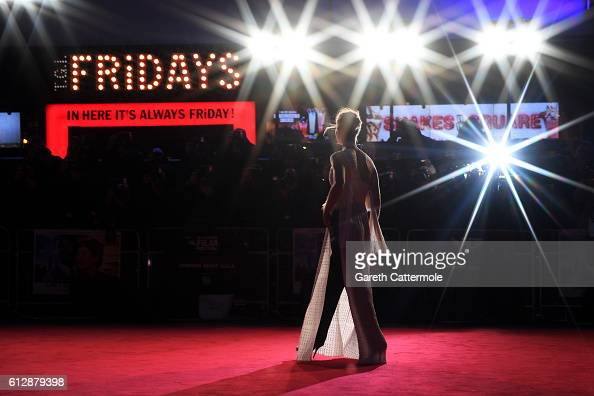 Actress Rosamund Pike attends the 'A United Kingdom' Opening Night Gala screening during the 60th BFI London Film Festival at Odeon Leicester Square...