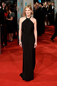 Actress Rosamund Pike attends the EE British Academy Film Awards at The Royal Opera House on February 8 2015 in London England