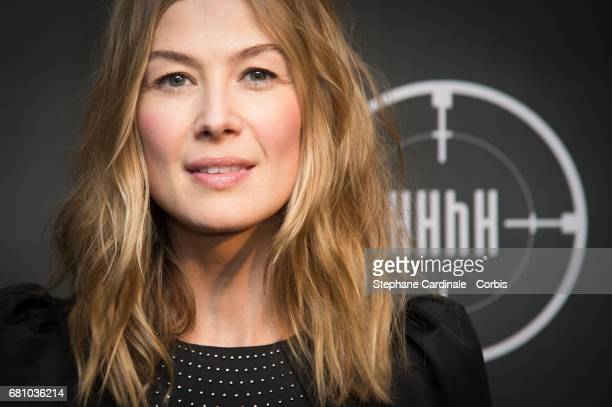 Actress Rosamund Pike attends the 'HHhH' Paris Premiere at Cinema UGC Normandie on May 9 2017 in Paris France