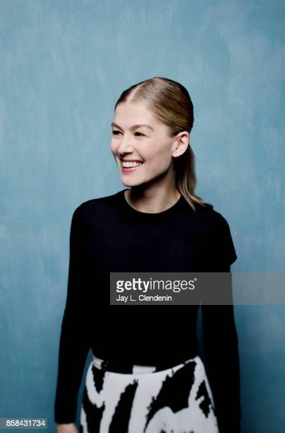 Actress Rosamund Pike from the film 'Hostiles' poses poses for a portrait at the 2017 Toronto International Film Festival for Los Angeles Times on...