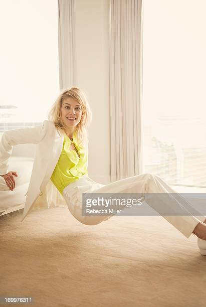 Actress Rosamund Pike is photographed for Paper Magazine on November 3 2012 in London England PUBLISHED IMAGE