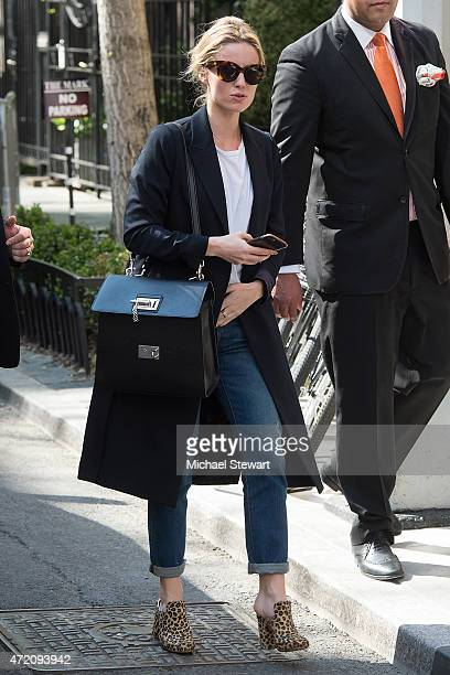 Actress Rosamund Pike seen on the streets of Manhattan on May 3 2015 in New York City