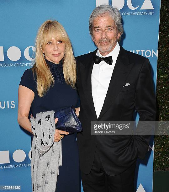 Actress Rosanna Arquette and husband Todd Morgan attend the 2015 MOCA Gala at The Geffen Contemporary at MOCA on May 30 2015 in Los Angeles California
