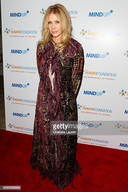 Actress Rosanna Arquette arrives at Goldie Hawn's inaugural 'Love In For Kids' benefiting the Hawn Foundation's MindUp program at Ron Burkle's Green...