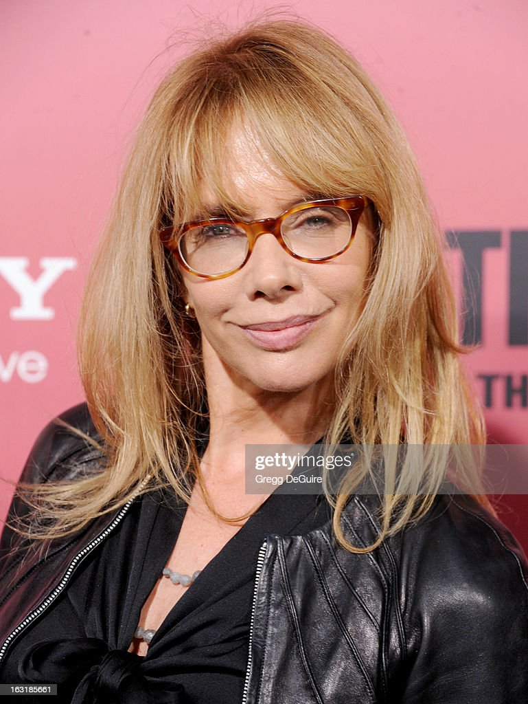 Actress Rosanna Arquette arrives at the Los Angeles premiere of 'The Call' at ArcLight Hollywood on March 5, 2013 in Hollywood, California.