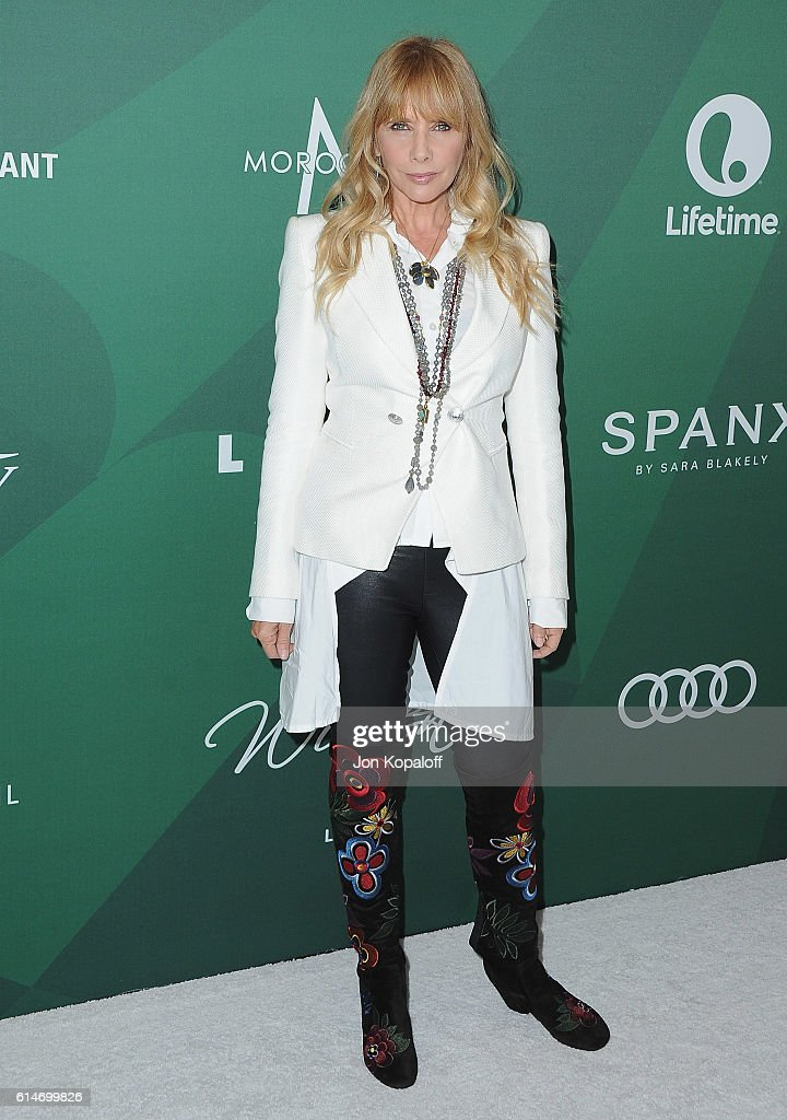 Actress Rosanna Arquette arrives at Variety's Power Of Women Luncheon 2016 at the Beverly Wilshire Four Seasons Hotel on October 14, 2016 in Beverly Hills, California.