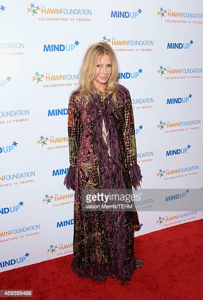 Actress Rosanna Arquette attends Goldie Hawn's inaugural 'Love In For Kids' benefiting the Hawn Foundation's MindUp program transforming children's...