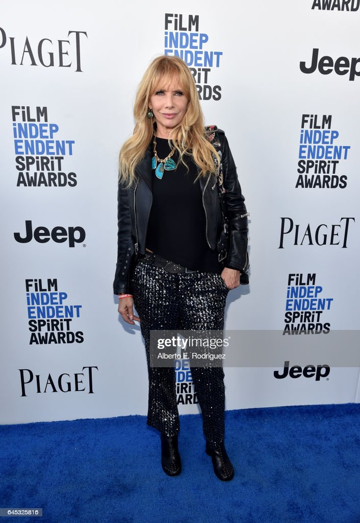 Actress Rosanna Arquette attends the 2017 Film Independent Spirit Awards at the Santa Monica Pier on February 25, 2017 in Santa Monica, California.