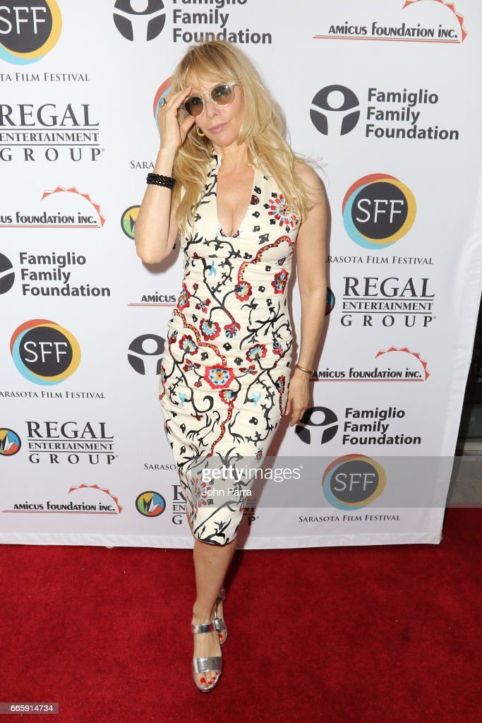 Actress Rosanna Arquette attends the 'Born Guilty' screening during the 2017 Sarasota Film Festival on April 7, 2017 in Sarasota, Florida.