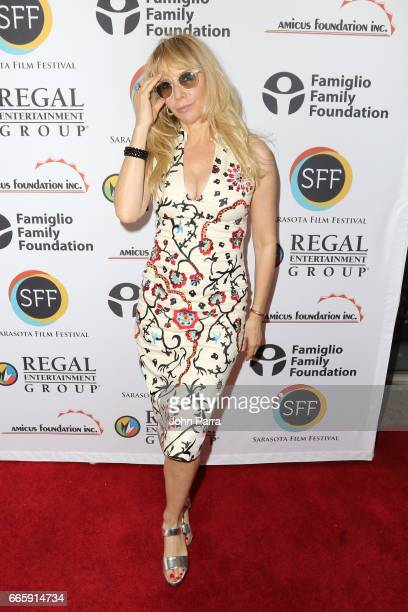 Actress Rosanna Arquette attends the 'Born Guilty' screening during the 2017 Sarasota Film Festival on April 7 2017 in Sarasota Florida