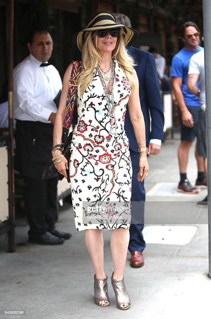 Actress Rosanna Arquette is seen on June 28 2016 in Los Angeles California