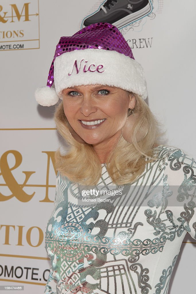Actress Rosanna Iversen-Berdahl attends 'The Shoe Crew' Holiday Launch Party & Charity Benefit at The Joint on December 15, 2012 in Los Angeles, California.