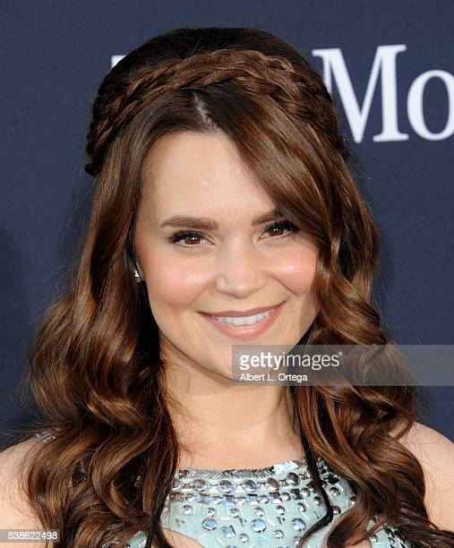 Actress Rosanna Pansino arrives for the Premiere Of Universal Pictures' 'Warcraft' held at TCL Chinese Theatre IMAX on June 6 2016 in Hollywood...