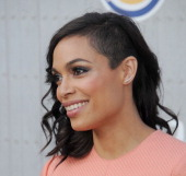Actress Rosario Dawson arrives at Spike TV's 'Guys Choice' Awards at Sony Studios on June 7 2014 in Los Angeles California