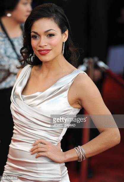 Actress Rosario Dawson arrives at the 15th Annual Screen Actors Guild Awards at the Shrine Auditorium in Los Angeles California on January 25 2009...