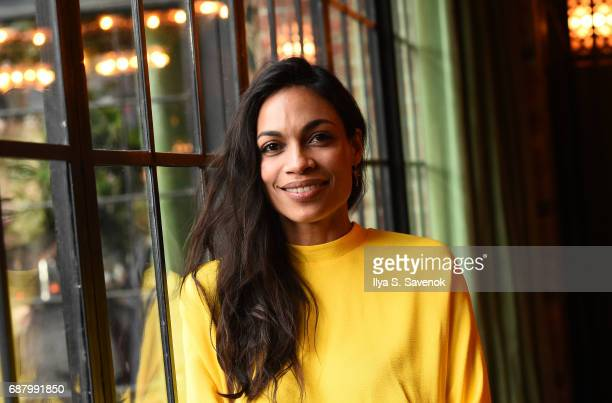 Actress Rosario Dawson attends 2017 Lower Eastside Girls Club Spring Fling And Awards Gala at The Bowery Terrace at the Bowery Hotel on May 24 2017...
