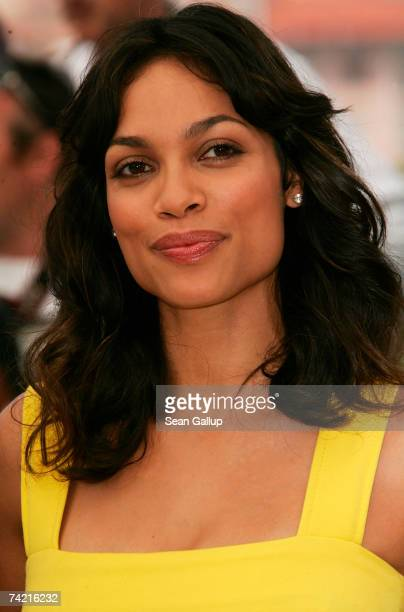 Actress Rosario Dawson attends a photocall promoting the film 'Death Proof' at the Palais des Festivals during the 60th International Cannes Film...