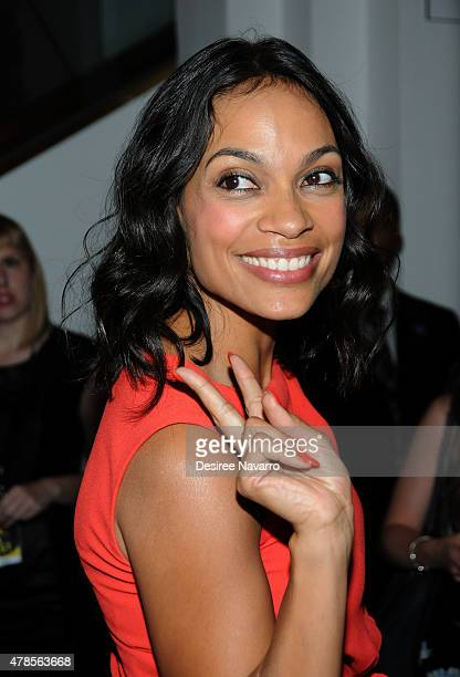 Actress Rosario Dawson attends BAMcinemaFest 2015 'Kids' 20th Anniversary Screening at BAM Peter Jay Sharp Building on June 25 2015 in New York City