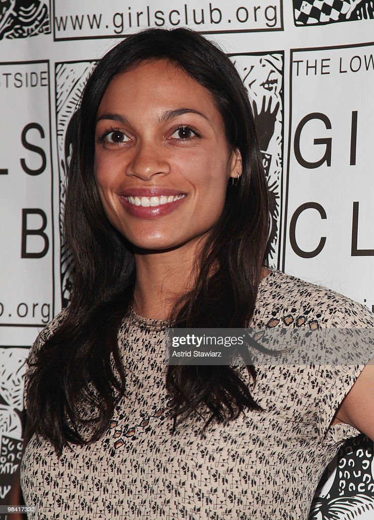 Actress <a gi-track='captionPersonalityLinkClicked' href=/galleries/search?phrase=Rosario+Dawson&family=editorial&specificpeople=201472 ng-click='$event.stopPropagation()'>Rosario Dawson</a> attends Everything's Coming Up Rosie(s)! at P.S. 122 on April 12, 2010 in New York City.