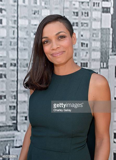 Actress Rosario Dawson attends 'SIN CITY A DAME TO KILL FOR' Experience during ComicCon 2014 at PETCO Park on July 26 2014 in San Diego California