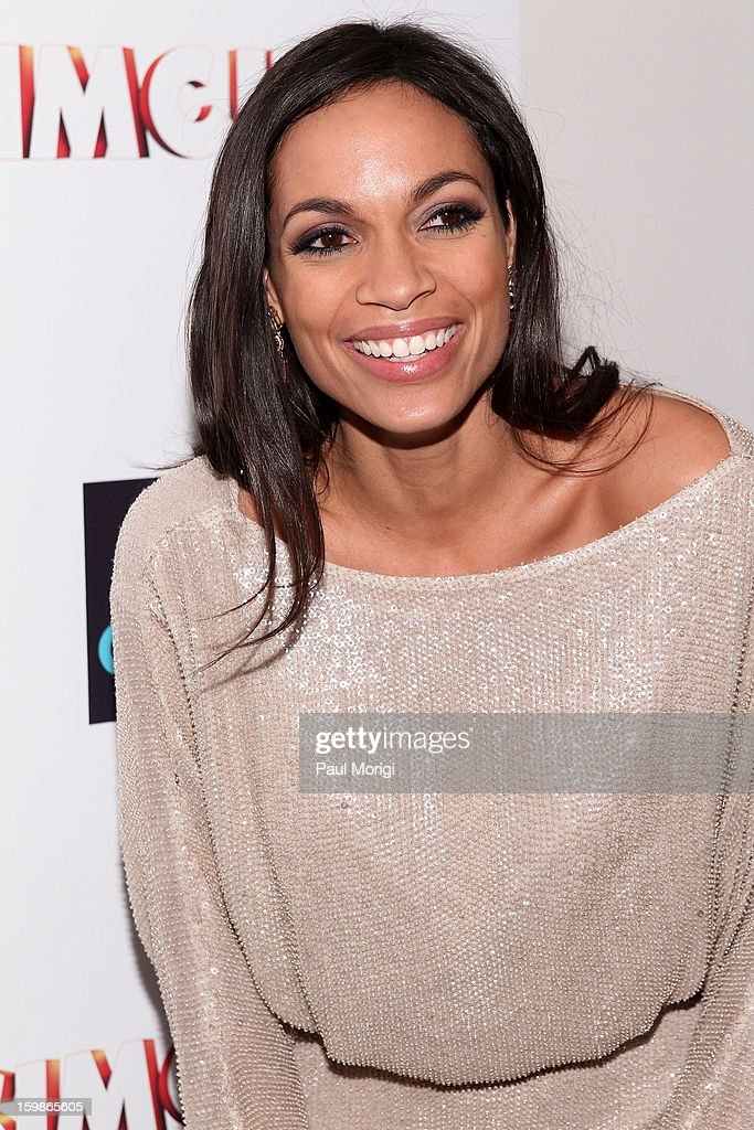 Actress <a gi-track='captionPersonalityLinkClicked' href=/galleries/search?phrase=Rosario+Dawson&family=editorial&specificpeople=201472 ng-click='$event.stopPropagation()'>Rosario Dawson</a> attends the 2013 Learn.Build.Create Inaugural Celebration at W Washington D.C. on January 21, 2013 in Washington, United States.