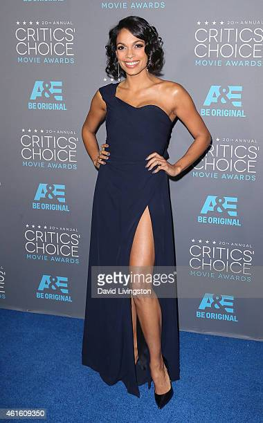 Actress Rosario Dawson attends the 20th Annual Critics' Choice Movie Awards at the Palladium on January 15 2015 in Los Angeles California