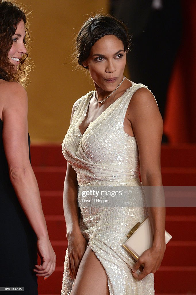 Actress Rosario Dawson attends the 'As I Lay Dying' Premiere during the 66th Annual Camnes Film Festival at the Palais des Festivals on May 20, 2013 in Cannes, France.
