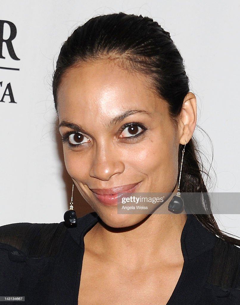 Actress <a gi-track='captionPersonalityLinkClicked' href=/galleries/search?phrase=Rosario+Dawson&family=editorial&specificpeople=201472 ng-click='$event.stopPropagation()'>Rosario Dawson</a> attends the 'Black November' screening on April 18, 2012 in Beverly Hills, California.