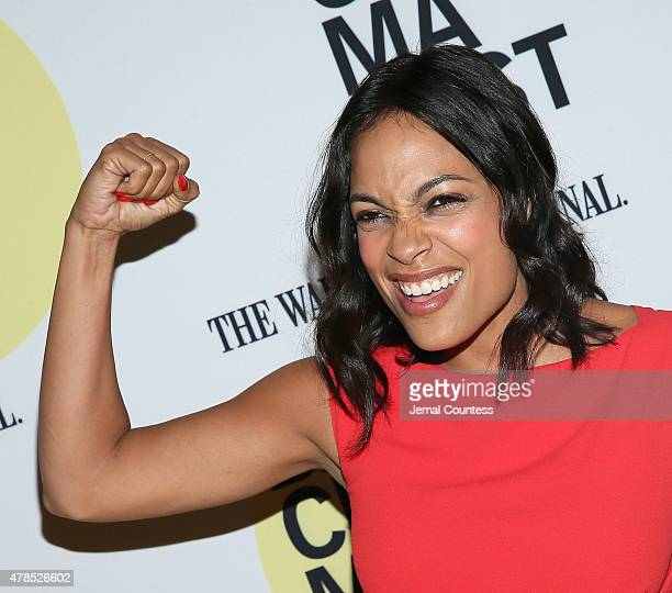 Actress Rosario Dawson attends the 'Kids' 20th Anniversary Screening at BAMcinemaFest 2015 at BAM Peter Jay Sharp Building on June 25 2015 in New...