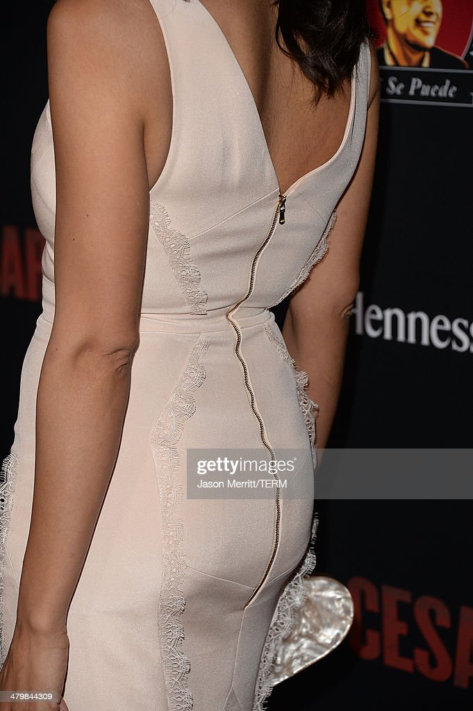 Actress Rosario Dawson attends the premiere of Pantelion Films and Participant Media's 'Cesar Chavez' - Arrivals at TCL Chinese Theatre on March 20, 2014 in Hollywood, California.