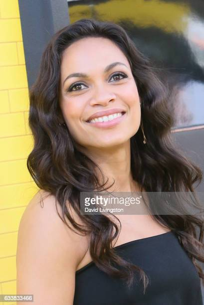 Actress Rosario Dawson attends the Premiere of Warner Bros Pictures' 'The LEGO Batman Movie' at the Regency Village Theatre on February 4 2017 in...