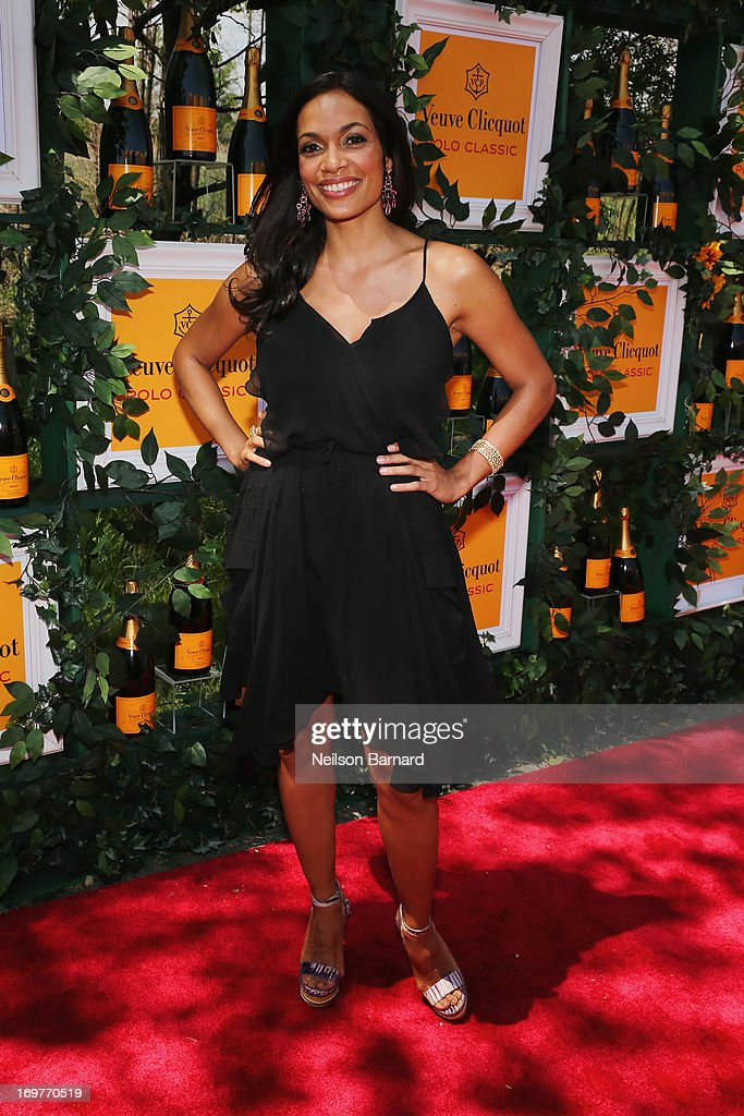 Actress Rosario Dawson attends the sixth annual Veuve Clicquot Polo Classic on June 1, 2013 in Jersey City.