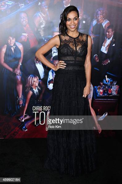 Actress Rosario Dawson attends the 'Top Five' New York Premiere at Ziegfeld Theater on December 3 2014 in New York City