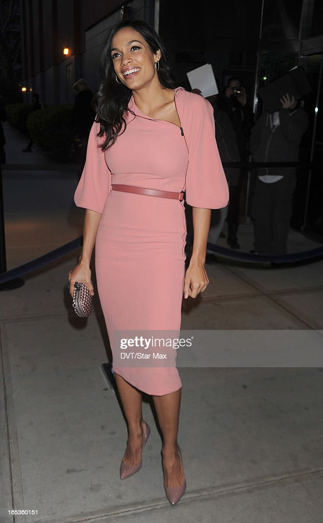 Actress <a gi-track='captionPersonalityLinkClicked' href=/galleries/search?phrase=Rosario+Dawson&family=editorial&specificpeople=201472 ng-click='$event.stopPropagation()'>Rosario Dawson</a> is seen on April 2, 2013 in New York City.