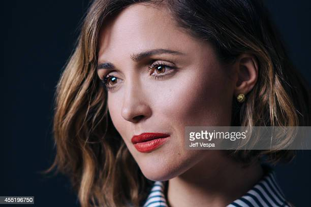 Actress Rose Byrne Actor is photographed for a Portrait Session at the 2014 Toronto Film Festival on September 82014 in Toronto Ontario